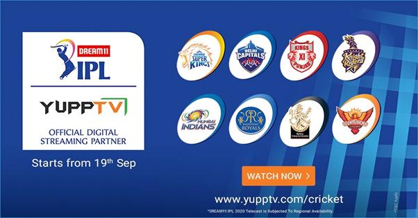 Watch Chennai Super Kings Vs Mumbai Indians IPL Live Streaming on YuppTV
